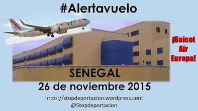 Vuelo Senegal 26nov