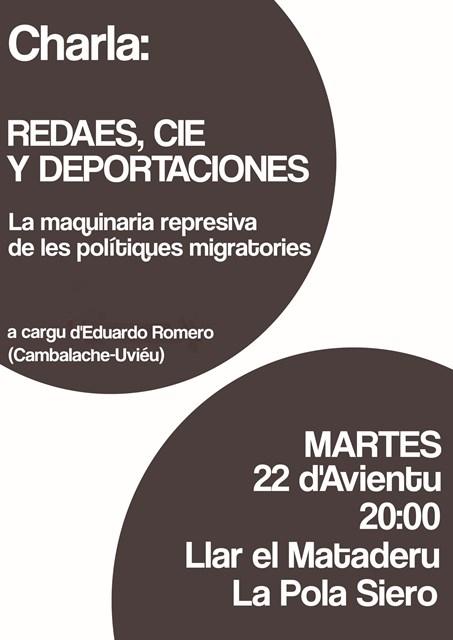 charla inmigración