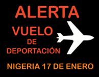 Vuelo Nigeria 17 enero