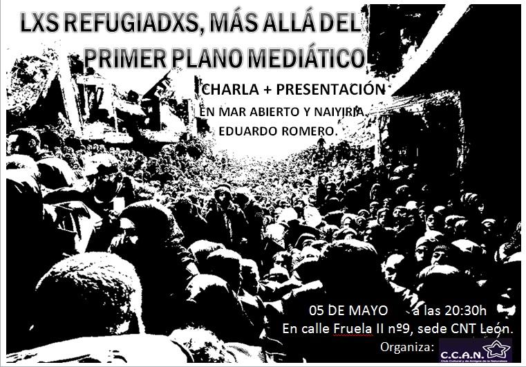cartel charla eduardo romero