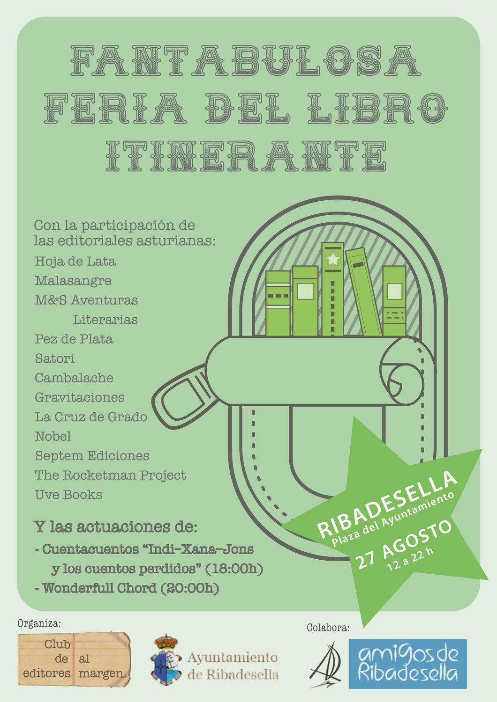 CARTEL - FERIA DEL LIBRO DE RIBADESELLA - DEFINITIVO